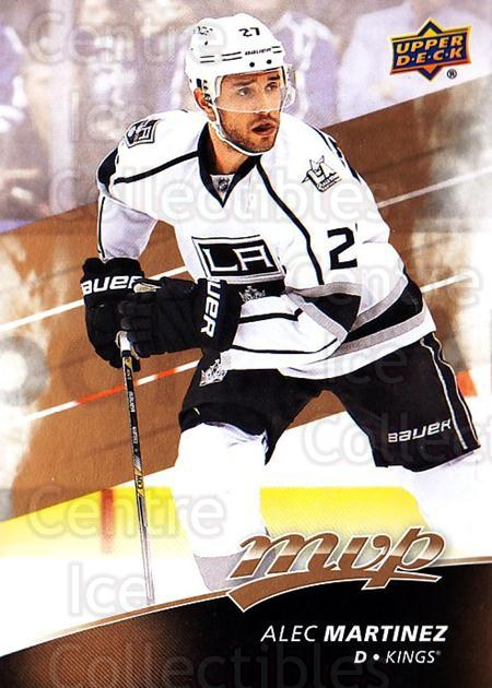 2017-18 Upper Deck MVP #109 Alec Martinez<br/>6 In Stock - $1.00 each - <a href=https://centericecollectibles.foxycart.com/cart?name=2017-18%20Upper%20Deck%20MVP%20%23109%20Alec%20Martinez...&quantity_max=6&price=$1.00&code=735111 class=foxycart> Buy it now! </a>