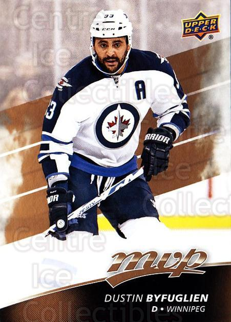 2017-18 Upper Deck MVP #110 Dustin Byfuglien<br/>5 In Stock - $1.00 each - <a href=https://centericecollectibles.foxycart.com/cart?name=2017-18%20Upper%20Deck%20MVP%20%23110%20Dustin%20Byfuglie...&quantity_max=5&price=$1.00&code=735112 class=foxycart> Buy it now! </a>