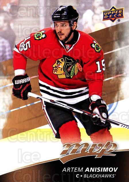 2017-18 Upper Deck MVP #117 Artem Anisimov<br/>6 In Stock - $1.00 each - <a href=https://centericecollectibles.foxycart.com/cart?name=2017-18%20Upper%20Deck%20MVP%20%23117%20Artem%20Anisimov...&quantity_max=6&price=$1.00&code=735119 class=foxycart> Buy it now! </a>