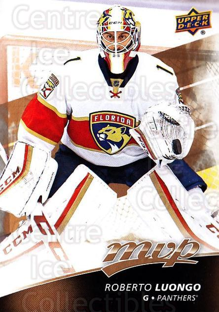 2017-18 Upper Deck MVP #129 Roberto Luongo<br/>4 In Stock - $2.00 each - <a href=https://centericecollectibles.foxycart.com/cart?name=2017-18%20Upper%20Deck%20MVP%20%23129%20Roberto%20Luongo...&quantity_max=4&price=$2.00&code=735131 class=foxycart> Buy it now! </a>