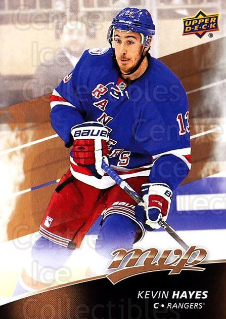 2017-18 Upper Deck MVP #135 Kevin Hayes<br/>4 In Stock - $1.00 each - <a href=https://centericecollectibles.foxycart.com/cart?name=2017-18%20Upper%20Deck%20MVP%20%23135%20Kevin%20Hayes...&quantity_max=4&price=$1.00&code=735137 class=foxycart> Buy it now! </a>
