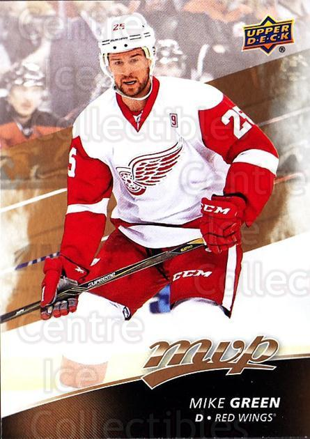 2017-18 Upper Deck MVP #138 Mike Green<br/>6 In Stock - $1.00 each - <a href=https://centericecollectibles.foxycart.com/cart?name=2017-18%20Upper%20Deck%20MVP%20%23138%20Mike%20Green...&quantity_max=6&price=$1.00&code=735140 class=foxycart> Buy it now! </a>
