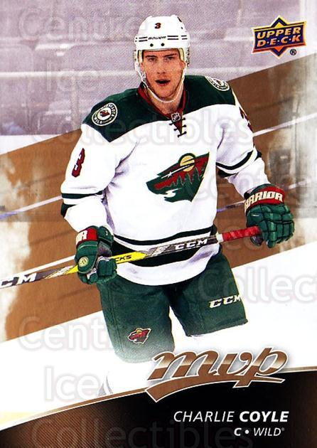 2017-18 Upper Deck MVP #148 Charlie Coyle<br/>6 In Stock - $1.00 each - <a href=https://centericecollectibles.foxycart.com/cart?name=2017-18%20Upper%20Deck%20MVP%20%23148%20Charlie%20Coyle...&quantity_max=6&price=$1.00&code=735150 class=foxycart> Buy it now! </a>
