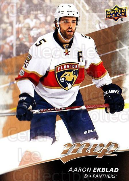 2017-18 Upper Deck MVP #158 Aaron Ekblad<br/>6 In Stock - $1.00 each - <a href=https://centericecollectibles.foxycart.com/cart?name=2017-18%20Upper%20Deck%20MVP%20%23158%20Aaron%20Ekblad...&quantity_max=6&price=$1.00&code=735160 class=foxycart> Buy it now! </a>