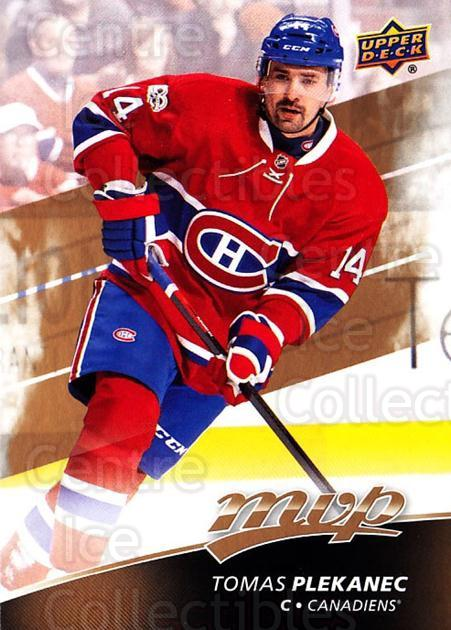 2017-18 Upper Deck MVP #159 Tomas Plekanec<br/>6 In Stock - $1.00 each - <a href=https://centericecollectibles.foxycart.com/cart?name=2017-18%20Upper%20Deck%20MVP%20%23159%20Tomas%20Plekanec...&quantity_max=6&price=$1.00&code=735161 class=foxycart> Buy it now! </a>