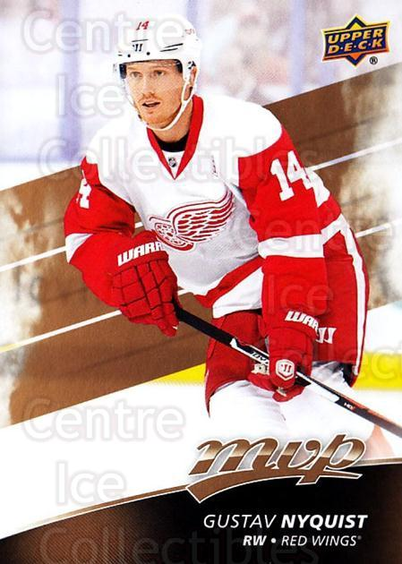 2017-18 Upper Deck MVP #166 Gustav Nyquist<br/>6 In Stock - $1.00 each - <a href=https://centericecollectibles.foxycart.com/cart?name=2017-18%20Upper%20Deck%20MVP%20%23166%20Gustav%20Nyquist...&quantity_max=6&price=$1.00&code=735168 class=foxycart> Buy it now! </a>