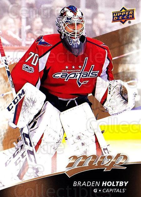 2017-18 Upper Deck MVP #169 Braden Holtby<br/>5 In Stock - $1.00 each - <a href=https://centericecollectibles.foxycart.com/cart?name=2017-18%20Upper%20Deck%20MVP%20%23169%20Braden%20Holtby...&quantity_max=5&price=$1.00&code=735171 class=foxycart> Buy it now! </a>