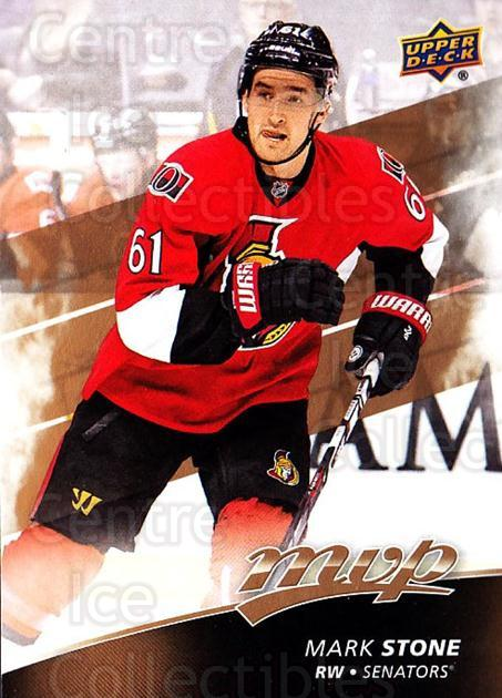 2017-18 Upper Deck MVP #173 Mark Stone<br/>6 In Stock - $1.00 each - <a href=https://centericecollectibles.foxycart.com/cart?name=2017-18%20Upper%20Deck%20MVP%20%23173%20Mark%20Stone...&quantity_max=6&price=$1.00&code=735175 class=foxycart> Buy it now! </a>