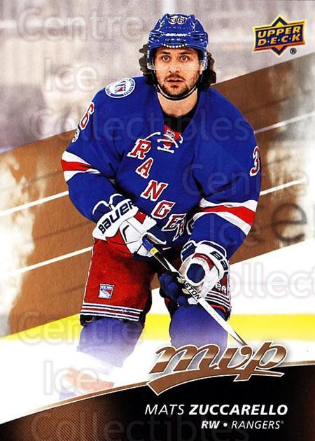 2017-18 Upper Deck MVP #188 Mats Zuccarello<br/>6 In Stock - $1.00 each - <a href=https://centericecollectibles.foxycart.com/cart?name=2017-18%20Upper%20Deck%20MVP%20%23188%20Mats%20Zuccarello...&quantity_max=6&price=$1.00&code=735190 class=foxycart> Buy it now! </a>