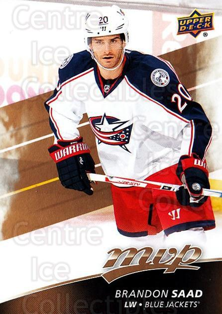 2017-18 Upper Deck MVP #194 Brandon Saad<br/>6 In Stock - $1.00 each - <a href=https://centericecollectibles.foxycart.com/cart?name=2017-18%20Upper%20Deck%20MVP%20%23194%20Brandon%20Saad...&quantity_max=6&price=$1.00&code=735196 class=foxycart> Buy it now! </a>