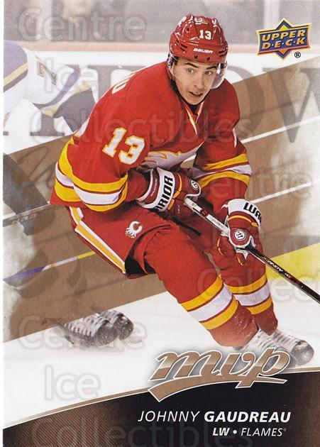 2017-18 Upper Deck MVP #212 Johnny Gaudreau<br/>1 In Stock - $3.00 each - <a href=https://centericecollectibles.foxycart.com/cart?name=2017-18%20Upper%20Deck%20MVP%20%23212%20Johnny%20Gaudreau...&quantity_max=1&price=$3.00&code=735214 class=foxycart> Buy it now! </a>
