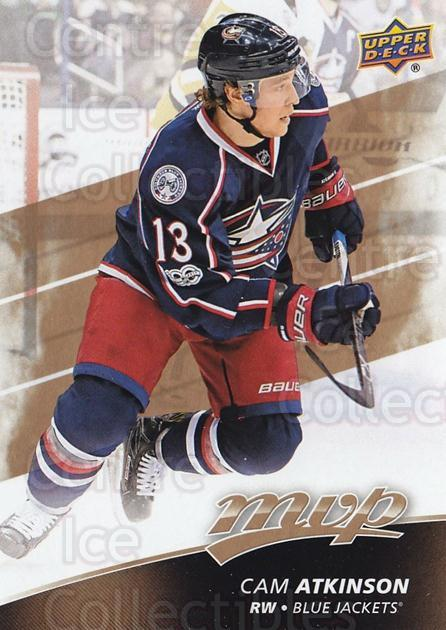2017-18 Upper Deck MVP #216 Cam Atkinson<br/>1 In Stock - $3.00 each - <a href=https://centericecollectibles.foxycart.com/cart?name=2017-18%20Upper%20Deck%20MVP%20%23216%20Cam%20Atkinson...&quantity_max=1&price=$3.00&code=735218 class=foxycart> Buy it now! </a>