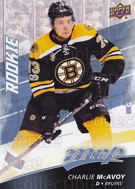 2017-18 Upper Deck MVP #232 Charlie McAvoy<br/>1 In Stock - $10.00 each - <a href=https://centericecollectibles.foxycart.com/cart?name=2017-18%20Upper%20Deck%20MVP%20%23232%20Charlie%20McAvoy...&quantity_max=1&price=$10.00&code=735234 class=foxycart> Buy it now! </a>