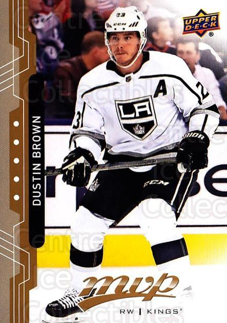 2018-19 Upper Deck MVP #47 Dustin Brown<br/>6 In Stock - $1.00 each - <a href=https://centericecollectibles.foxycart.com/cart?name=2018-19%20Upper%20Deck%20MVP%20%2347%20Dustin%20Brown...&quantity_max=6&price=$1.00&code=735299 class=foxycart> Buy it now! </a>