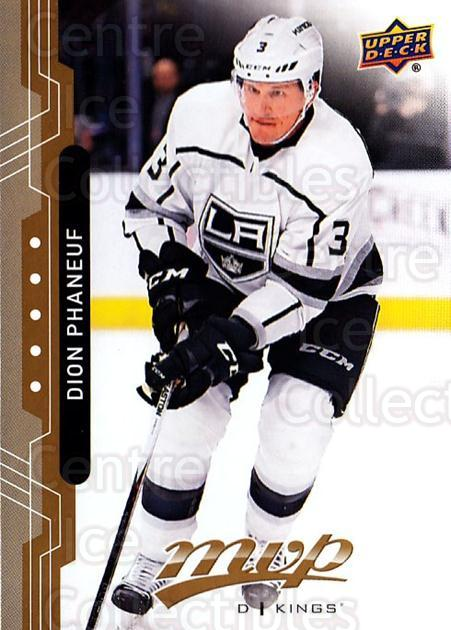 2018-19 Upper Deck MVP #83 Dion Phaneuf<br/>6 In Stock - $1.00 each - <a href=https://centericecollectibles.foxycart.com/cart?name=2018-19%20Upper%20Deck%20MVP%20%2383%20Dion%20Phaneuf...&quantity_max=6&price=$1.00&code=735335 class=foxycart> Buy it now! </a>