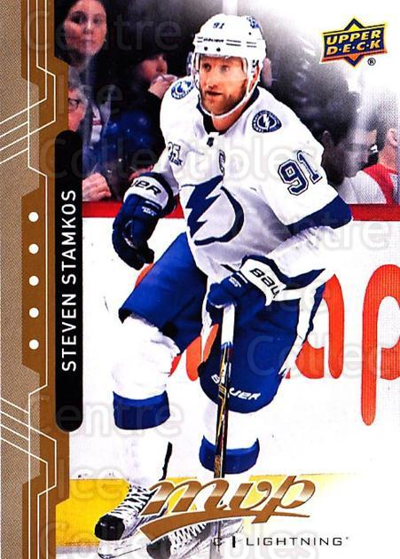 2018-19 Upper Deck MVP #101 Steven Stamkos<br/>6 In Stock - $1.00 each - <a href=https://centericecollectibles.foxycart.com/cart?name=2018-19%20Upper%20Deck%20MVP%20%23101%20Steven%20Stamkos...&quantity_max=6&price=$1.00&code=735353 class=foxycart> Buy it now! </a>