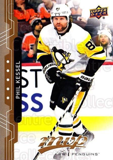 2018-19 Upper Deck MVP #111 Phil Kessel<br/>6 In Stock - $1.00 each - <a href=https://centericecollectibles.foxycart.com/cart?name=2018-19%20Upper%20Deck%20MVP%20%23111%20Phil%20Kessel...&quantity_max=6&price=$1.00&code=735363 class=foxycart> Buy it now! </a>
