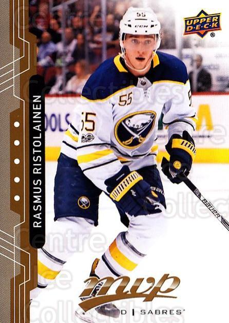 2018-19 Upper Deck MVP #121 Rasmus Ristolainen<br/>6 In Stock - $1.00 each - <a href=https://centericecollectibles.foxycart.com/cart?name=2018-19%20Upper%20Deck%20MVP%20%23121%20Rasmus%20Ristolai...&quantity_max=6&price=$1.00&code=735373 class=foxycart> Buy it now! </a>