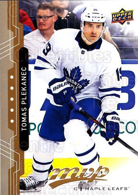 2018-19 Upper Deck MVP #160 Tomas Plekanec<br/>3 In Stock - $1.00 each - <a href=https://centericecollectibles.foxycart.com/cart?name=2018-19%20Upper%20Deck%20MVP%20%23160%20Tomas%20Plekanec...&quantity_max=3&price=$1.00&code=735412 class=foxycart> Buy it now! </a>