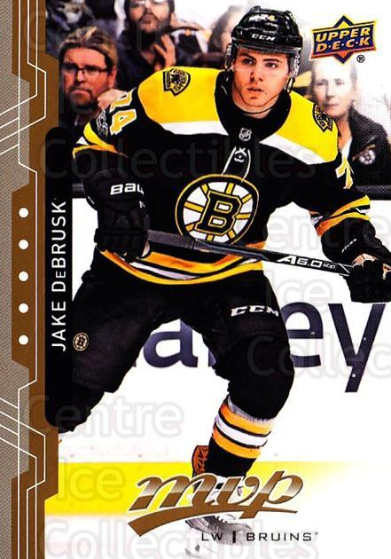2018-19 Upper Deck MVP #174 Jake DeBrusk<br/>6 In Stock - $1.00 each - <a href=https://centericecollectibles.foxycart.com/cart?name=2018-19%20Upper%20Deck%20MVP%20%23174%20Jake%20DeBrusk...&quantity_max=6&price=$1.00&code=735426 class=foxycart> Buy it now! </a>