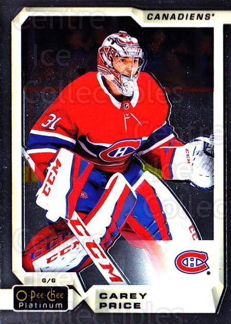2018-19 O-Pee-Chee Platinum #15 Carey Price<br/>3 In Stock - $3.00 each - <a href=https://centericecollectibles.foxycart.com/cart?name=2018-19%20O-Pee-Chee%20Platinum%20%2315%20Carey%20Price...&quantity_max=3&price=$3.00&code=735517 class=foxycart> Buy it now! </a>