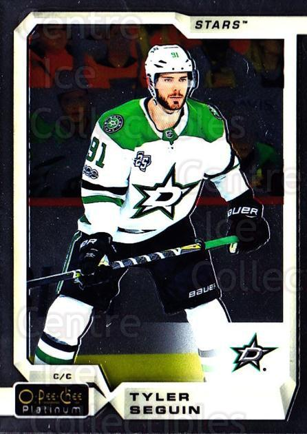 2018-19 O-Pee-Chee Platinum #22 Tyler Seguin<br/>8 In Stock - $1.00 each - <a href=https://centericecollectibles.foxycart.com/cart?name=2018-19%20O-Pee-Chee%20Platinum%20%2322%20Tyler%20Seguin...&quantity_max=8&price=$1.00&code=735524 class=foxycart> Buy it now! </a>