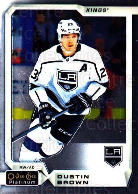 2018-19 O-Pee-Chee Platinum #47 Dustin Brown<br/>8 In Stock - $1.00 each - <a href=https://centericecollectibles.foxycart.com/cart?name=2018-19%20O-Pee-Chee%20Platinum%20%2347%20Dustin%20Brown...&quantity_max=8&price=$1.00&code=735549 class=foxycart> Buy it now! </a>