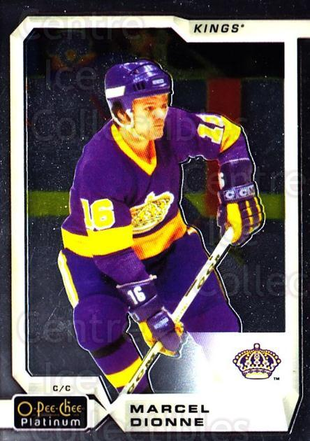 2018-19 O-Pee-Chee Platinum #147 Marcel Dionne<br/>9 In Stock - $2.00 each - <a href=https://centericecollectibles.foxycart.com/cart?name=2018-19%20O-Pee-Chee%20Platinum%20%23147%20Marcel%20Dionne...&quantity_max=9&price=$2.00&code=735649 class=foxycart> Buy it now! </a>