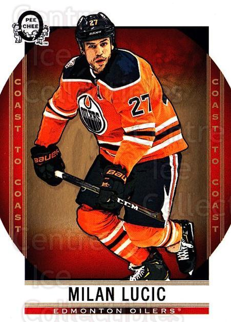 2018-19 O-Pee-Chee Coast to Coast #26 Milan Lucic<br/>9 In Stock - $1.00 each - <a href=https://centericecollectibles.foxycart.com/cart?name=2018-19%20O-Pee-Chee%20Coast%20to%20Coast%20%2326%20Milan%20Lucic...&quantity_max=9&price=$1.00&code=735728 class=foxycart> Buy it now! </a>