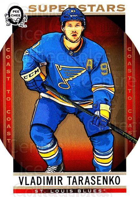2018-19 O-Pee-Chee Coast to Coast #126 Vladimir Tarasenko<br/>8 In Stock - $2.00 each - <a href=https://centericecollectibles.foxycart.com/cart?name=2018-19%20O-Pee-Chee%20Coast%20to%20Coast%20%23126%20Vladimir%20Tarase...&quantity_max=8&price=$2.00&code=735828 class=foxycart> Buy it now! </a>