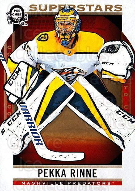 2018-19 O-Pee-Chee Coast to Coast #144 Pekka Rinne<br/>9 In Stock - $2.00 each - <a href=https://centericecollectibles.foxycart.com/cart?name=2018-19%20O-Pee-Chee%20Coast%20to%20Coast%20%23144%20Pekka%20Rinne...&quantity_max=9&price=$2.00&code=735846 class=foxycart> Buy it now! </a>