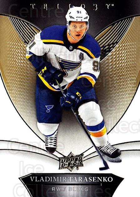 2018-19 UD Trilogy #13 Vladimir Tarasenko<br/>3 In Stock - $2.00 each - <a href=https://centericecollectibles.foxycart.com/cart?name=2018-19%20UD%20Trilogy%20%2313%20Vladimir%20Tarase...&quantity_max=3&price=$2.00&code=735925 class=foxycart> Buy it now! </a>