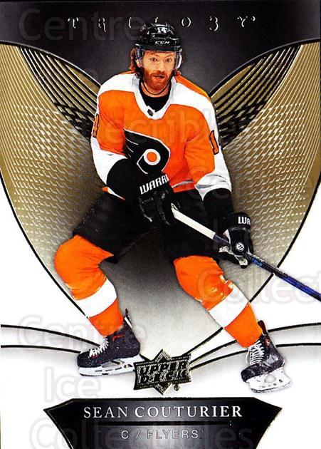 2018-19 UD Trilogy #22 Sean Couturier<br/>3 In Stock - $2.00 each - <a href=https://centericecollectibles.foxycart.com/cart?name=2018-19%20UD%20Trilogy%20%2322%20Sean%20Couturier...&quantity_max=3&price=$2.00&code=735934 class=foxycart> Buy it now! </a>