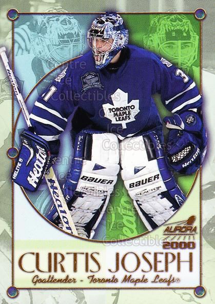 1999-00 Aurora Championship Fever #19 Curtis Joseph<br/>6 In Stock - $2.00 each - <a href=https://centericecollectibles.foxycart.com/cart?name=1999-00%20Aurora%20Championship%20Fever%20%2319%20Curtis%20Joseph...&quantity_max=6&price=$2.00&code=73615 class=foxycart> Buy it now! </a>