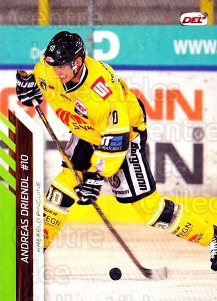 2013-14 German DEL #284 Andreas Driendl<br/>7 In Stock - $2.00 each - <a href=https://centericecollectibles.foxycart.com/cart?name=2013-14%20German%20DEL%20%23284%20Andreas%20Driendl...&quantity_max=7&price=$2.00&code=736447 class=foxycart> Buy it now! </a>