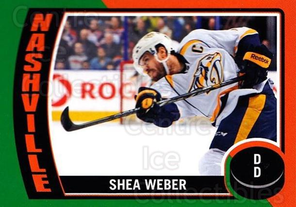 2014-15 O-Pee-Chee Stickers #21 Shea Weber<br/>1 In Stock - $2.00 each - <a href=https://centericecollectibles.foxycart.com/cart?name=2014-15%20O-Pee-Chee%20Stickers%20%2321%20Shea%20Weber...&quantity_max=1&price=$2.00&code=736575 class=foxycart> Buy it now! </a>
