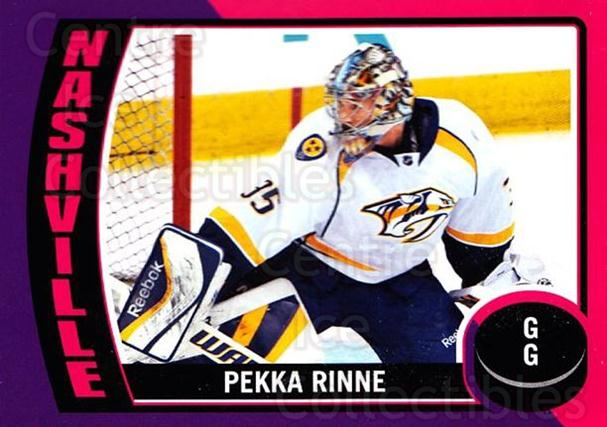 2014-15 O-Pee-Chee Stickers #32 Pekka Rinne<br/>1 In Stock - $2.00 each - <a href=https://centericecollectibles.foxycart.com/cart?name=2014-15%20O-Pee-Chee%20Stickers%20%2332%20Pekka%20Rinne...&quantity_max=1&price=$2.00&code=736586 class=foxycart> Buy it now! </a>