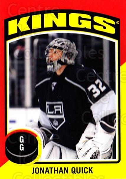 2014-15 O-Pee-Chee Stickers #43 Jonathan Quick<br/>1 In Stock - $2.00 each - <a href=https://centericecollectibles.foxycart.com/cart?name=2014-15%20O-Pee-Chee%20Stickers%20%2343%20Jonathan%20Quick...&quantity_max=1&price=$2.00&code=736597 class=foxycart> Buy it now! </a>