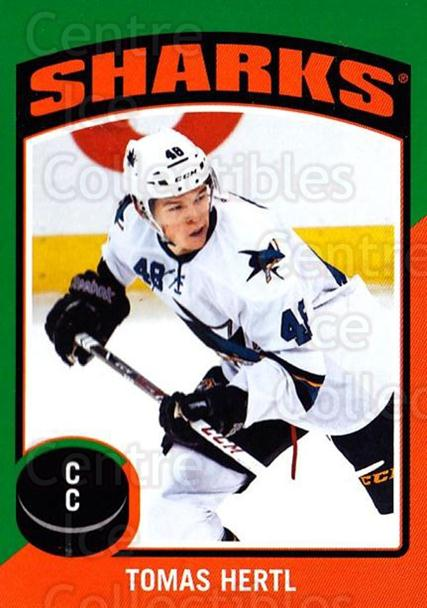 2014-15 O-Pee-Chee Stickers #45 Tomas Hertl<br/>1 In Stock - $2.00 each - <a href=https://centericecollectibles.foxycart.com/cart?name=2014-15%20O-Pee-Chee%20Stickers%20%2345%20Tomas%20Hertl...&quantity_max=1&price=$2.00&code=736599 class=foxycart> Buy it now! </a>