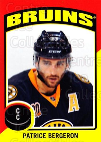 2014-15 O-Pee-Chee Stickers #83 Patrice Bergeron<br/>1 In Stock - $3.00 each - <a href=https://centericecollectibles.foxycart.com/cart?name=2014-15%20O-Pee-Chee%20Stickers%20%2383%20Patrice%20Bergero...&quantity_max=1&price=$3.00&code=736637 class=foxycart> Buy it now! </a>