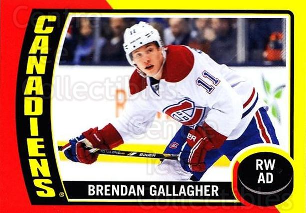 2014-15 O-Pee-Chee Stickers #87 Brendan Gallagher<br/>1 In Stock - $2.00 each - <a href=https://centericecollectibles.foxycart.com/cart?name=2014-15%20O-Pee-Chee%20Stickers%20%2387%20Brendan%20Gallagh...&quantity_max=1&price=$2.00&code=736641 class=foxycart> Buy it now! </a>