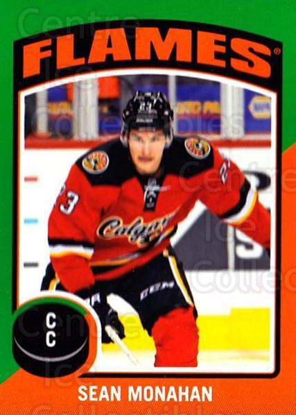 2014-15 O-Pee-Chee Stickers #97 Sean Monahan<br/>1 In Stock - $2.00 each - <a href=https://centericecollectibles.foxycart.com/cart?name=2014-15%20O-Pee-Chee%20Stickers%20%2397%20Sean%20Monahan...&quantity_max=1&price=$2.00&code=736651 class=foxycart> Buy it now! </a>