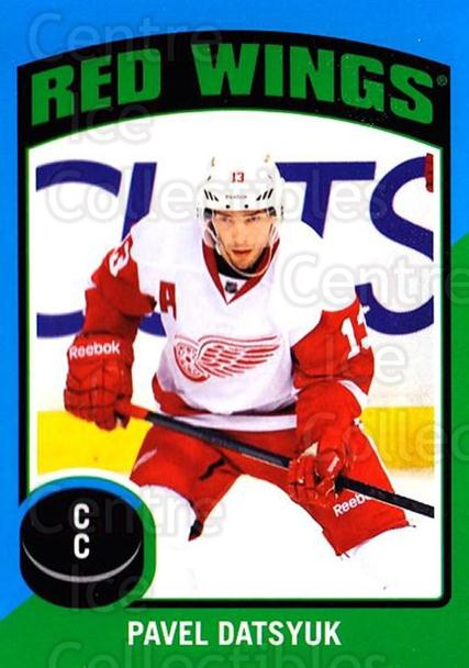 2014-15 O-Pee-Chee Stickers #98 Pavel Datsyuk<br/>1 In Stock - $3.00 each - <a href=https://centericecollectibles.foxycart.com/cart?name=2014-15%20O-Pee-Chee%20Stickers%20%2398%20Pavel%20Datsyuk...&quantity_max=1&price=$3.00&code=736652 class=foxycart> Buy it now! </a>