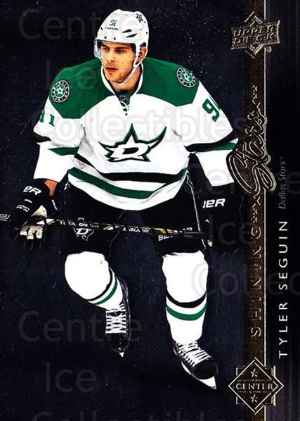 2014-15 Upper Deck Shining Stars #24 Tyler Seguin<br/>1 In Stock - $3.00 each - <a href=https://centericecollectibles.foxycart.com/cart?name=2014-15%20Upper%20Deck%20Shining%20Stars%20%2324%20Tyler%20Seguin...&quantity_max=1&price=$3.00&code=736678 class=foxycart> Buy it now! </a>