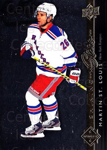 2014-15 Upper Deck Shining Stars #38 Martin St. Louis<br/>1 In Stock - $3.00 each - <a href=https://centericecollectibles.foxycart.com/cart?name=2014-15%20Upper%20Deck%20Shining%20Stars%20%2338%20Martin%20St.%20Loui...&quantity_max=1&price=$3.00&code=736692 class=foxycart> Buy it now! </a>