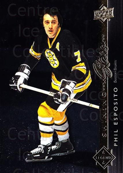 2014-15 Upper Deck Shining Stars #41 Phil Esposito<br/>1 In Stock - $3.00 each - <a href=https://centericecollectibles.foxycart.com/cart?name=2014-15%20Upper%20Deck%20Shining%20Stars%20%2341%20Phil%20Esposito...&quantity_max=1&price=$3.00&code=736695 class=foxycart> Buy it now! </a>