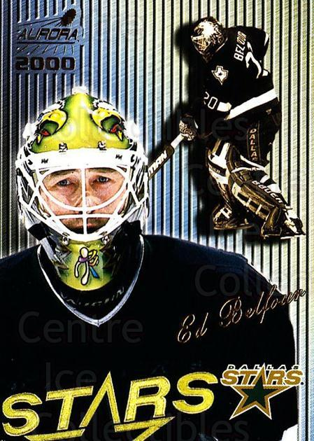 1999-00 Aurora Striped #43 Ed Belfour<br/>5 In Stock - $2.00 each - <a href=https://centericecollectibles.foxycart.com/cart?name=1999-00%20Aurora%20Striped%20%2343%20Ed%20Belfour...&quantity_max=5&price=$2.00&code=73678 class=foxycart> Buy it now! </a>