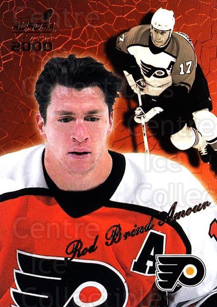 1999-00 Aurora #103 Rod Brind'Amour<br/>5 In Stock - $1.00 each - <a href=https://centericecollectibles.foxycart.com/cart?name=1999-00%20Aurora%20%23103%20Rod%20Brind'Amour...&quantity_max=5&price=$1.00&code=73708 class=foxycart> Buy it now! </a>