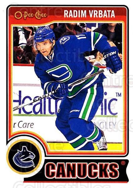 2014-15 O-Pee-chee Update #6 Radim Vrbata<br/>1 In Stock - $2.00 each - <a href=https://centericecollectibles.foxycart.com/cart?name=2014-15%20O-Pee-chee%20Update%20%236%20Radim%20Vrbata...&quantity_max=1&price=$2.00&code=737099 class=foxycart> Buy it now! </a>