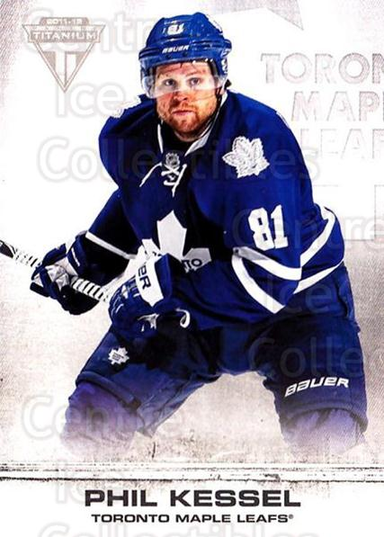 2011-12 Titanium #11 Phil Kessel<br/>1 In Stock - $1.00 each - <a href=https://centericecollectibles.foxycart.com/cart?name=2011-12%20Titanium%20%2311%20Phil%20Kessel...&quantity_max=1&price=$1.00&code=737188 class=foxycart> Buy it now! </a>